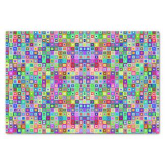 Decoratief kleurrijk papieren zakdoekje tissuepapier