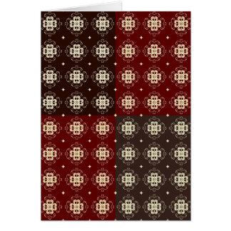 Decoratief Patroon Kaart