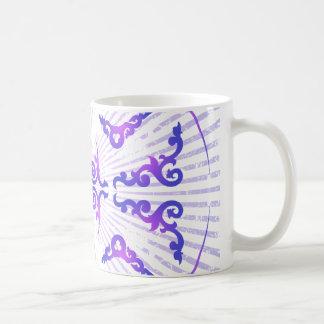 Decoratief Patroon: Vector Tekening: Koffiemok