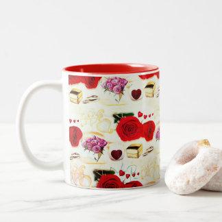 Decoratief voor Haar mokken van de Koffie