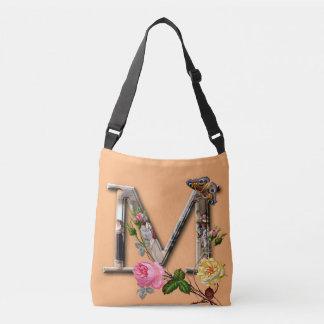 """Decoratieve Brief Aanvankelijk """"M"""" Crossbody Tas"""