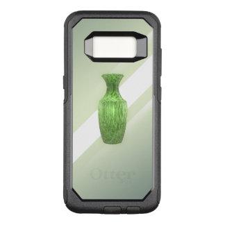Decoratieve Groene Vaas OtterBox Commuter Samsung Galaxy S8 Hoesje