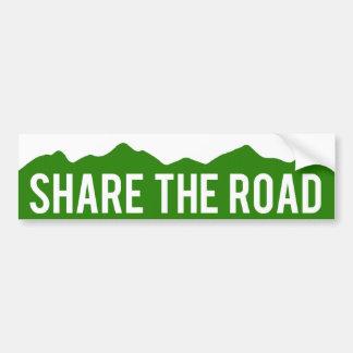 Deel de Sticker van de Bumper van Colorado van de
