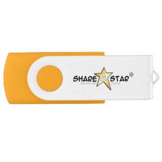 Deel een aandrijving van de Ster usb USB Stick
