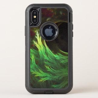 DeepDream van een Zeewier van de Langzaam OtterBox Defender iPhone X Hoesje