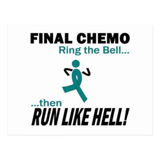 Definitieve Chemo loopt zeer - Ovariale Kanker Briefkaart
