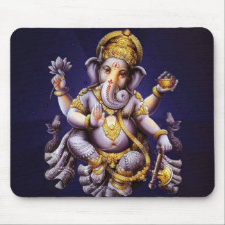 Deity van de Olifant van Ganesha Hindoese India Muismat