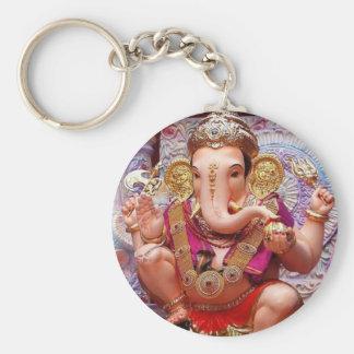 Deity van de Olifant van Ganesha Hindoese India Sleutelhanger