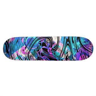Dek van het de wervelingenSkateboard van de 18,7 Cm Mini Skateboard Deck