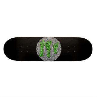 dek van het elia het spiraalvormige logo 21,6 cm skateboard deck