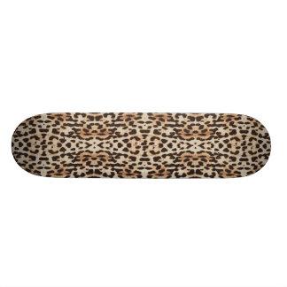 Dek van het Skateboard van de Druk van de Luipaard
