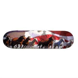 Dek van het Skateboard van de V.S. van de Vrijheid