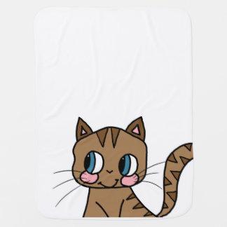 Deken - Leuke Kat Inbakerdoek