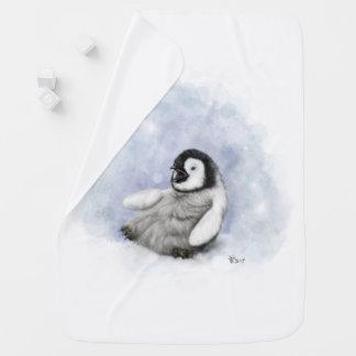 Deken van het Baby van de Pinguïn van het baby de Inbakerdoek