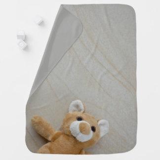 Deken van het Baby van de teddybeer de Marmeren Inbakerdoek
