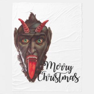 deken van krampus de vrolijke Kerstmis