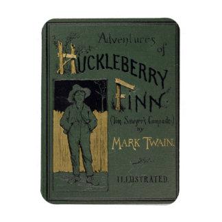 """Dekking van """"Avonturen van Huckleberry Finn"""" door  Magneet"""