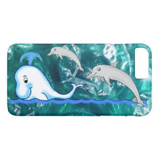 Dekking van de Telefoon van de dolfijn en van de iPhone 8/7 Plus Hoesje