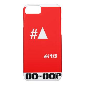 Delta iPhone 7 geval #Pyramid @1913 van de Theta iPhone 8/7 Hoesje