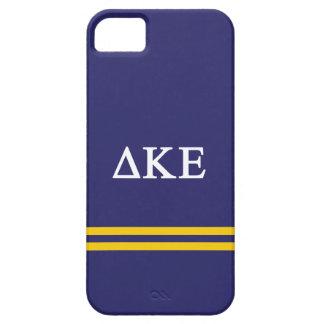 Delta Kappa Epsilon | Sport Stripe.ai Barely There iPhone 5 Hoesje