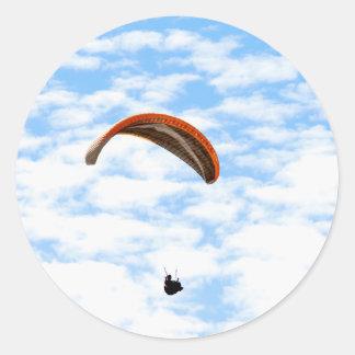 Deltaplaning in de Wolken - Klantgerichte Stickers