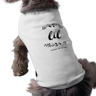 DeltaTau   van de sigma Manuscript Lil T-shirt