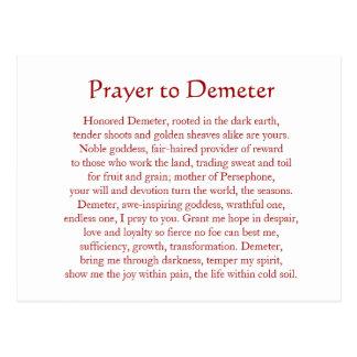 Demeter Keychain Briefkaart