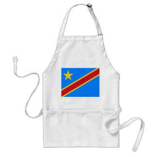 Democratische Republiek van de Vlag van de Wereld Standaard Schort