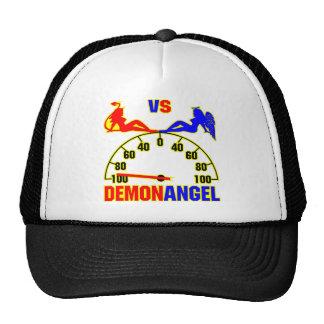 Demon versus de Meisjes van de Engel Pet Met Netje