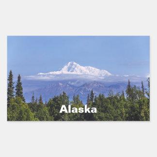 Denali (Mt. McKinley) Rechthoekige Sticker