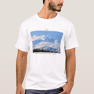 Denali/Mtns is roepen-j Muir/met grens T Shirt