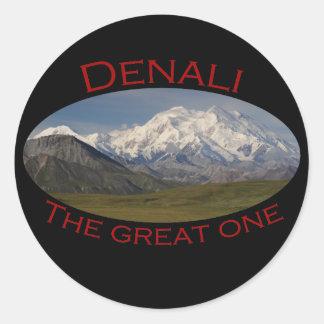 Denali Ronde Sticker