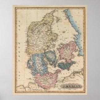 Denemarken Poster