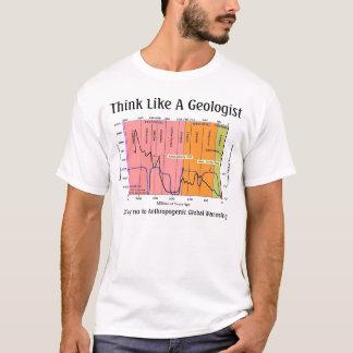Denk als een Geoloog T Shirt
