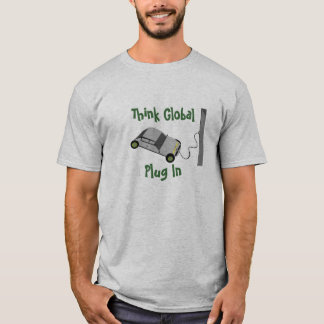 Denk binnen Globale… Stop T Shirt