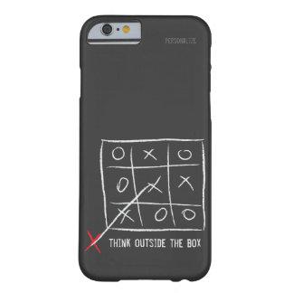 Denk buiten de Doos Barely There iPhone 6 Hoesje