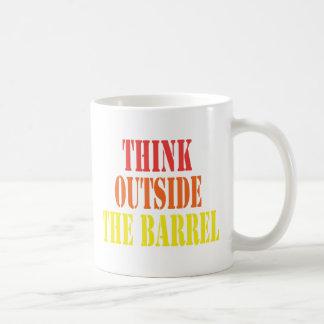 Denk buiten het Vat Koffiemok