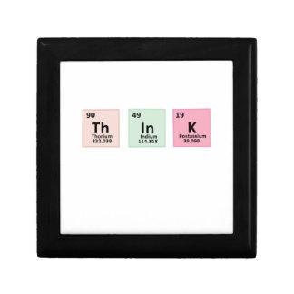 Denk - Chemie Vierkant Opbergdoosje Small