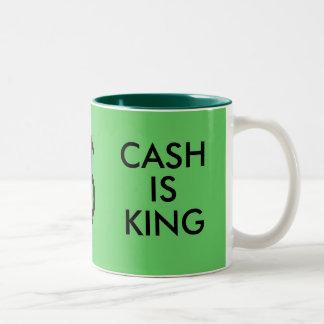 DENK GREEN/CASH DE MOK VAN DE KONING IS