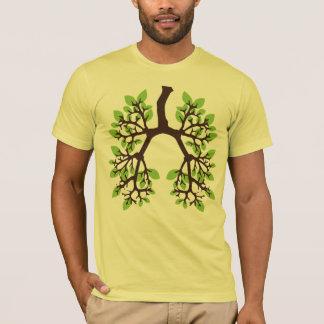 Denk Groen Groen adem T Shirt