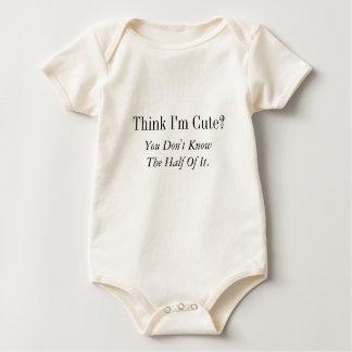Denk Ik Leuk ben?  , Kent u niet de Helft van het Baby Shirt