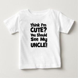 Denk Ik Leuk ben?  U zou mijn OOM moeten zien! Baby T Shirts