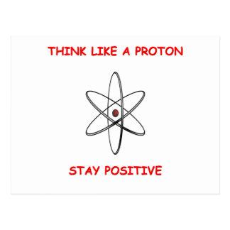 denk positief briefkaart