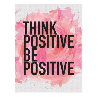 Denk Positief Positief is Briefkaart