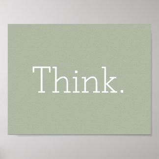 Denk Poster
