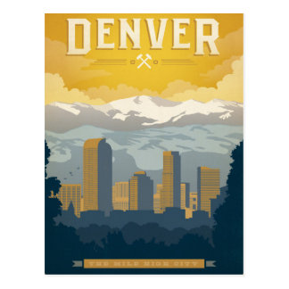Denver, Co Briefkaart
