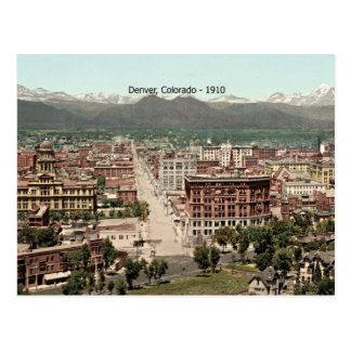 Denver, Colorado - 1910 Briefkaart