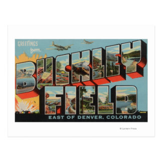 Denver, Gebied Colorado - Buckley Briefkaart