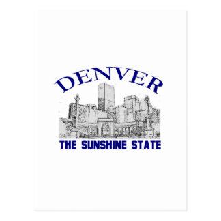 Denver, Sunshine state Briefkaart