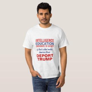 Deporteer de Verklaring van de Immigratie van de T Shirt